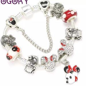 Jewelry - 20cm Brand New Minnie Mouse Charm Bracelet